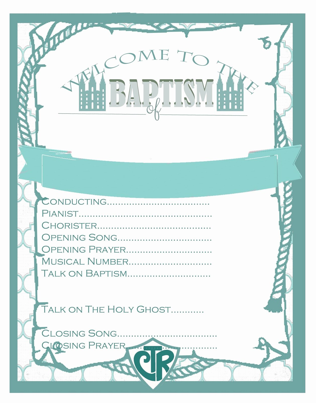 Lds Baptism Invitation Template Awesome I Do A Dime Lds Baptism Party