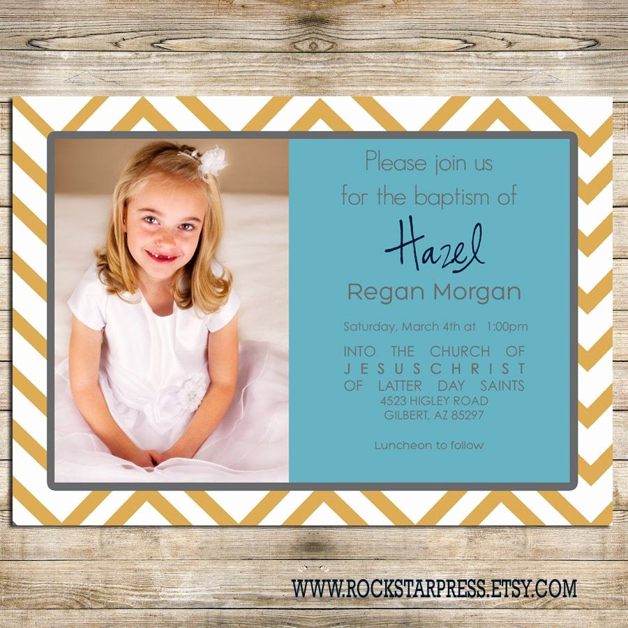 Lds Baptism Invitation Template Awesome Lds Baptism Invitations order Lds Baptism Invitations