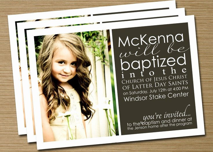 Lds Baptism Invitation Template Best Of Best 25 Baptism Announcement Ideas Only On Pinterest