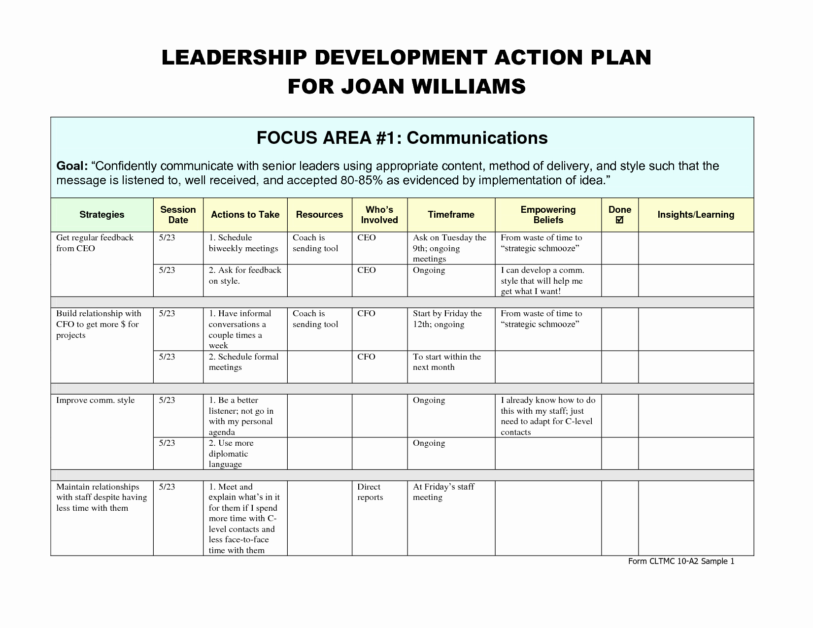 Leadership Development Plan Template Inspirational Leadership Development Plan – Emmamcintyrephotography