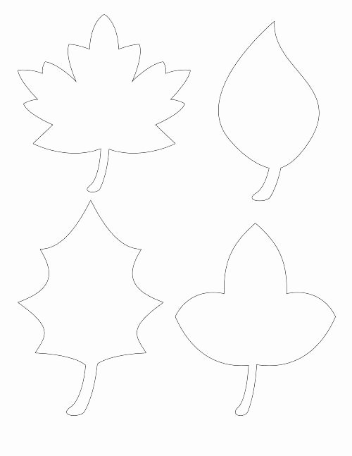 Leaf Template with Lines Fresh Template Leaf Writing Template with Lines