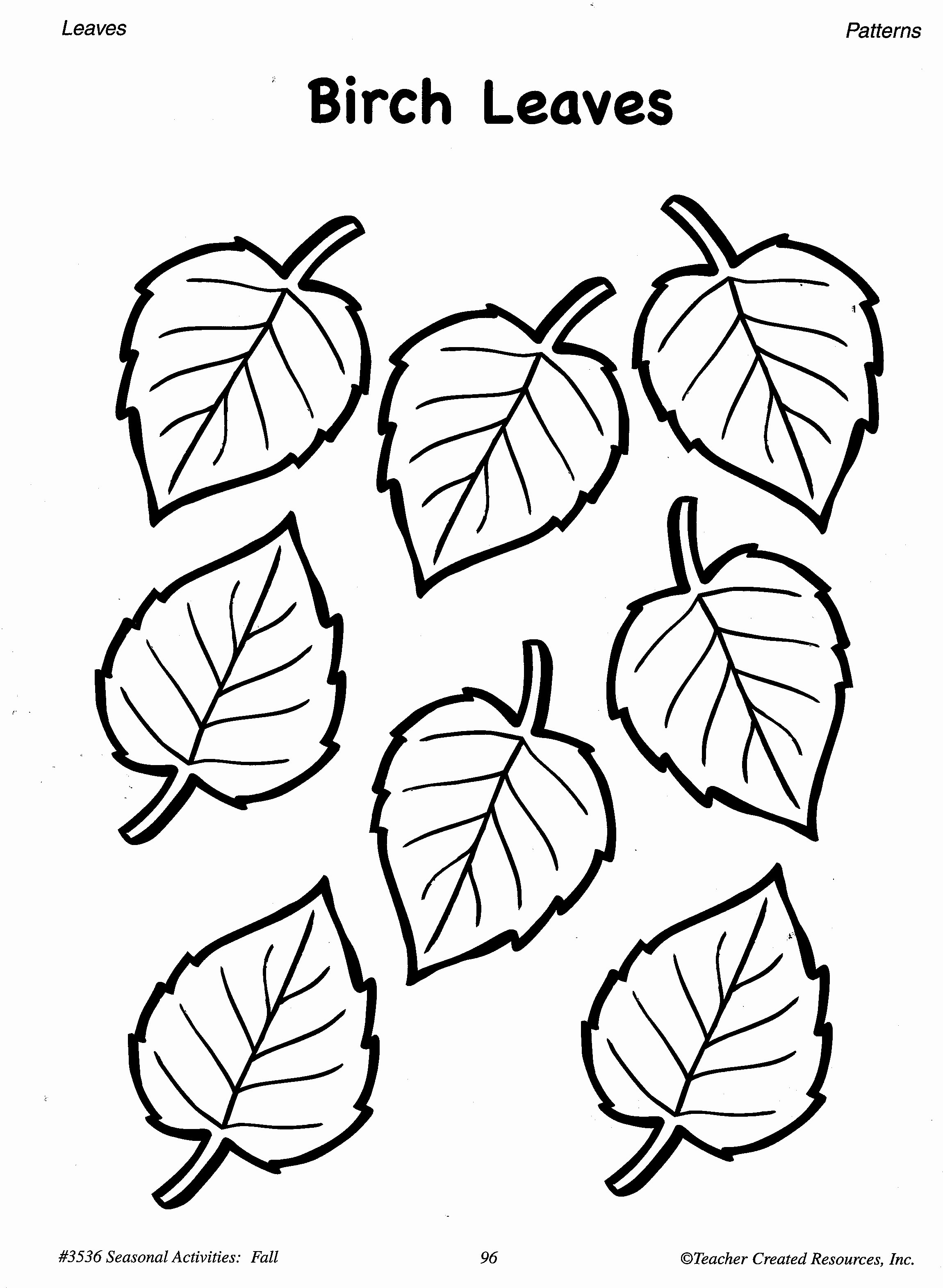 Leaf Template with Lines Inspirational Fall Pattern Worksheets for Preschool Pattern Worksheet