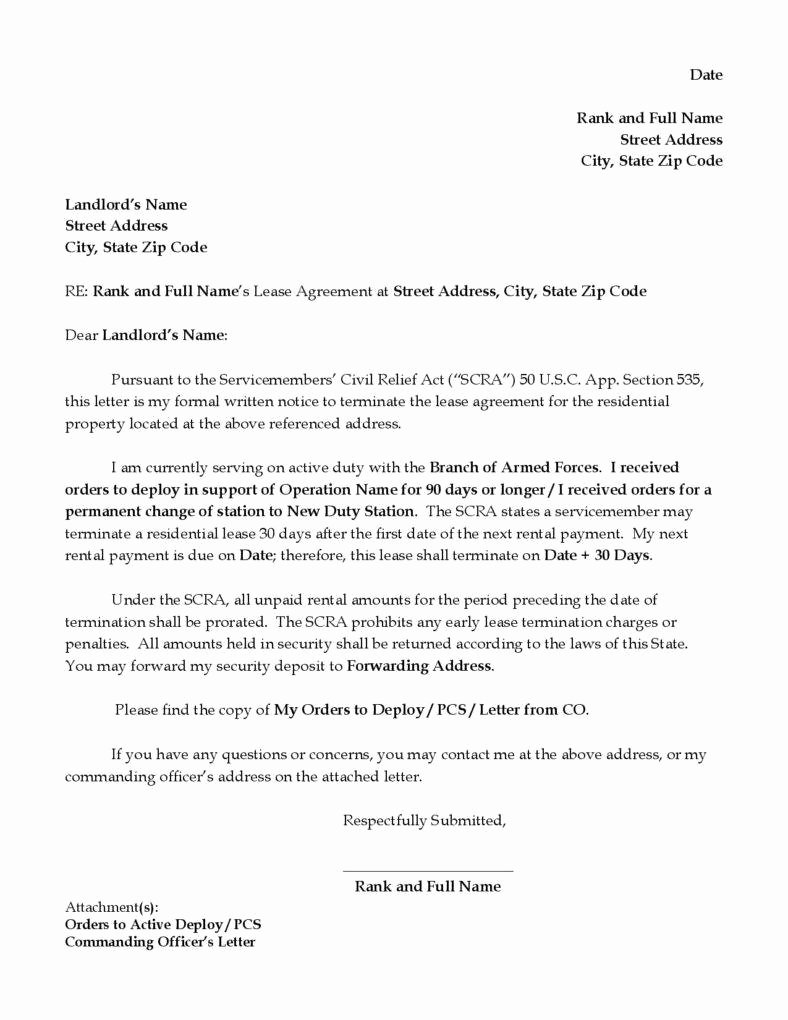 Lease Termination Agreement Template Unique 9 Ficial Termination Letter Templates Free Samples