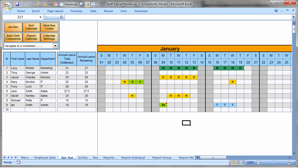 Leave Tracker Excel Template Unique Employee Vacation Tracking Template 2015