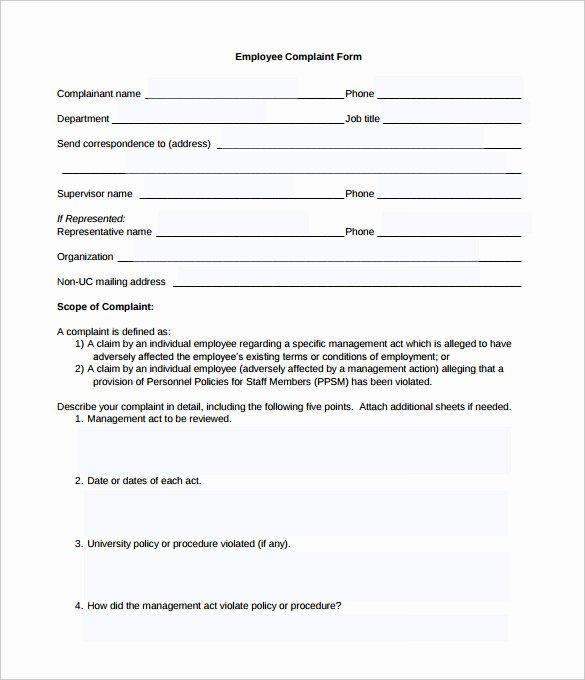 Legal Complaint Template Word Fresh Plaint form Template Word Templates Data