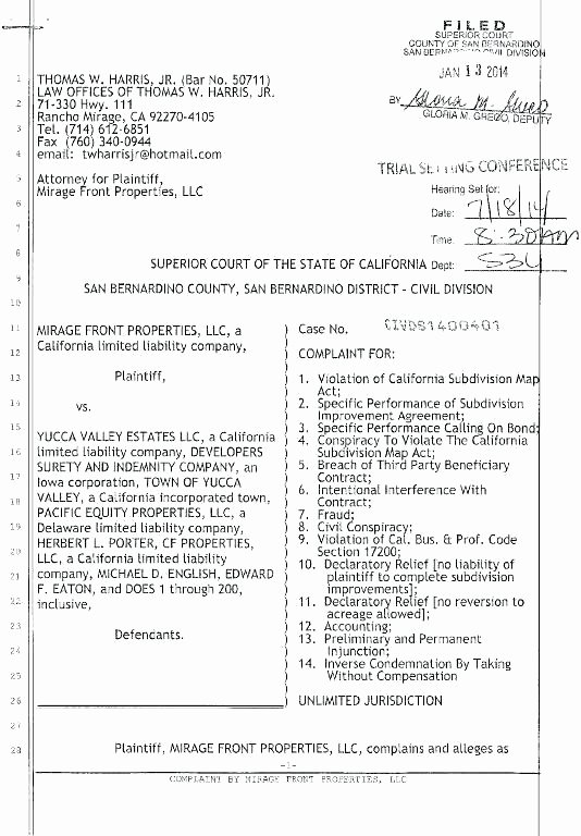 Legal Complaint Template Word New Civil Plaint Template – Puebladigital