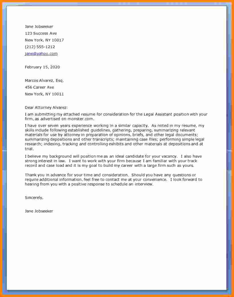 Legal Cover Letter Template Awesome Ledger Paper