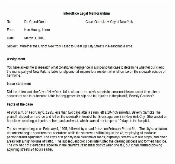 Legal Memorandum Template Word Beautiful Interoffice Memo Template 13 Word Pdf Google Docs