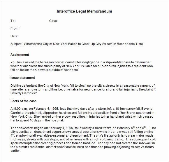 Legal Memorandum Template Word Fresh Interoffice Memo Template 6 Download Documents In Pdf
