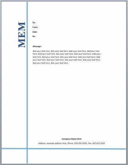 Legal Memorandum Template Word New Legal Memorandum Template Word
