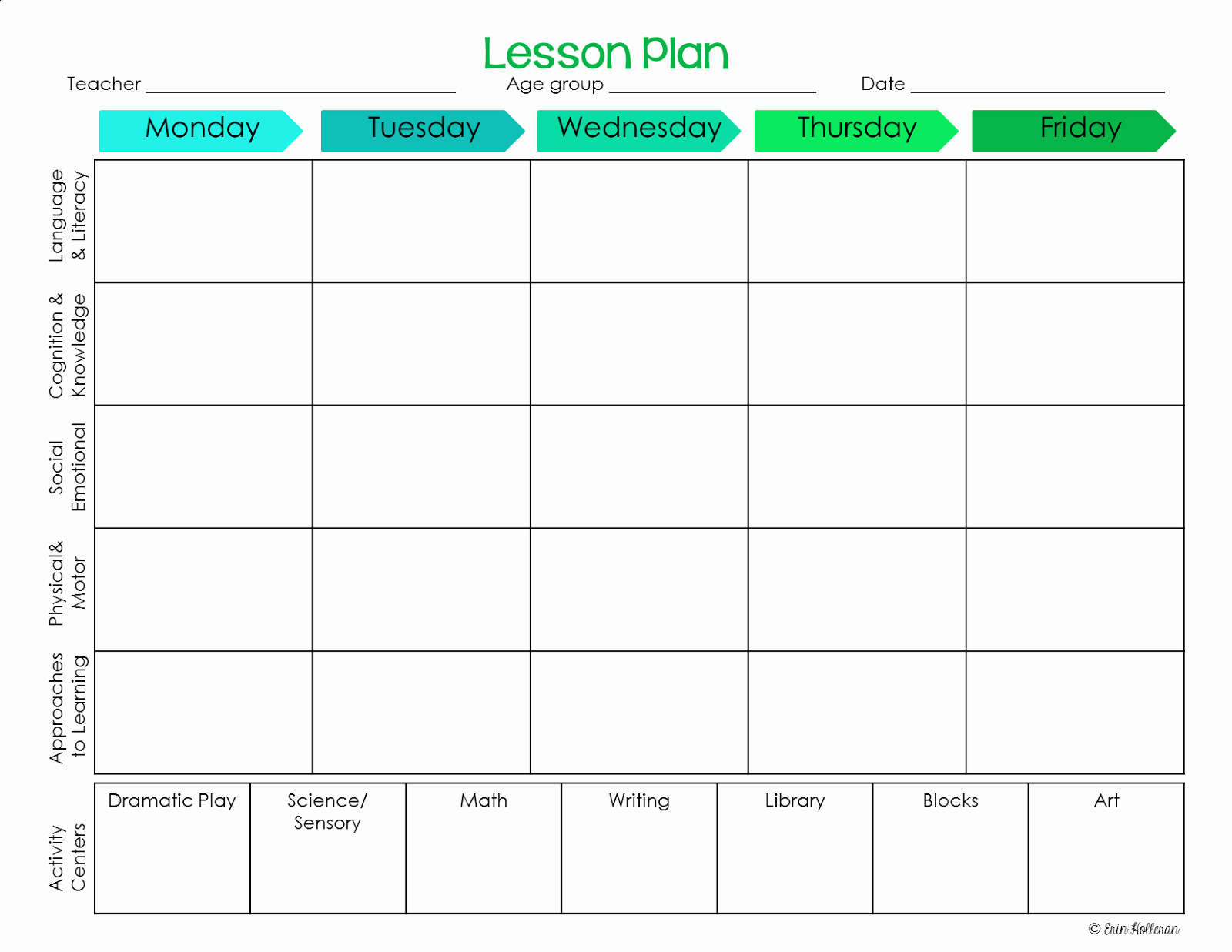 Lesson Plan Template Preschool Awesome Preschool Ponderings Make Your Lesson Plans Work for You