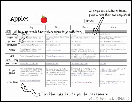 Lesson Plan Template Preschool Beautiful Awesome Ideas and Plete Lesson Plans Free