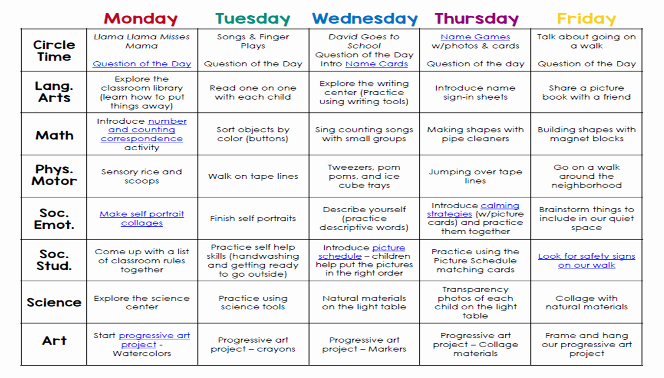 Lesson Plan Template Preschool Lovely Lesson Plans Reggio Google Search