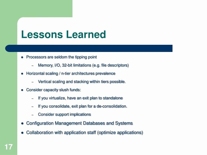Lessons Learned Template Powerpoint Awesome Ppt Virtual Ization Reality Check Powerpoint