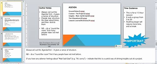 Lessons Learned Template Powerpoint Awesome when A Project Goes Wrong Review It Properly Don T Freak
