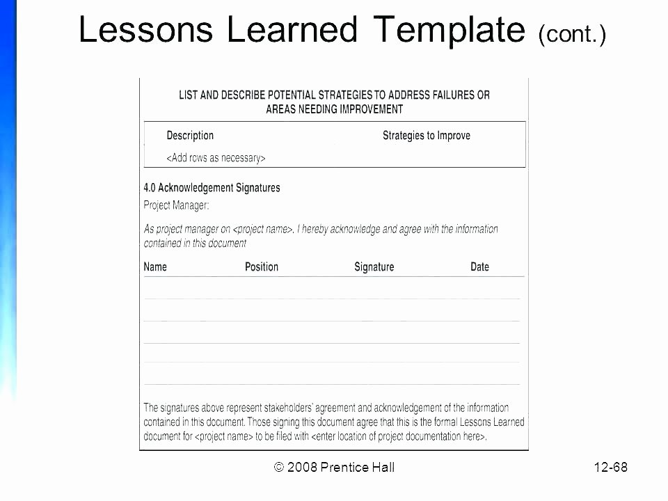 Lessons Learned Template Powerpoint Lovely Project Lessons Learned Template Lessons Learned Report