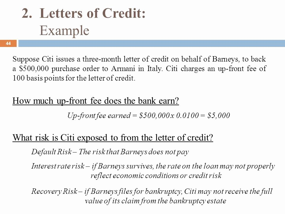Letter Of Credit Template Fresh F Balance Sheet Banking Ppt