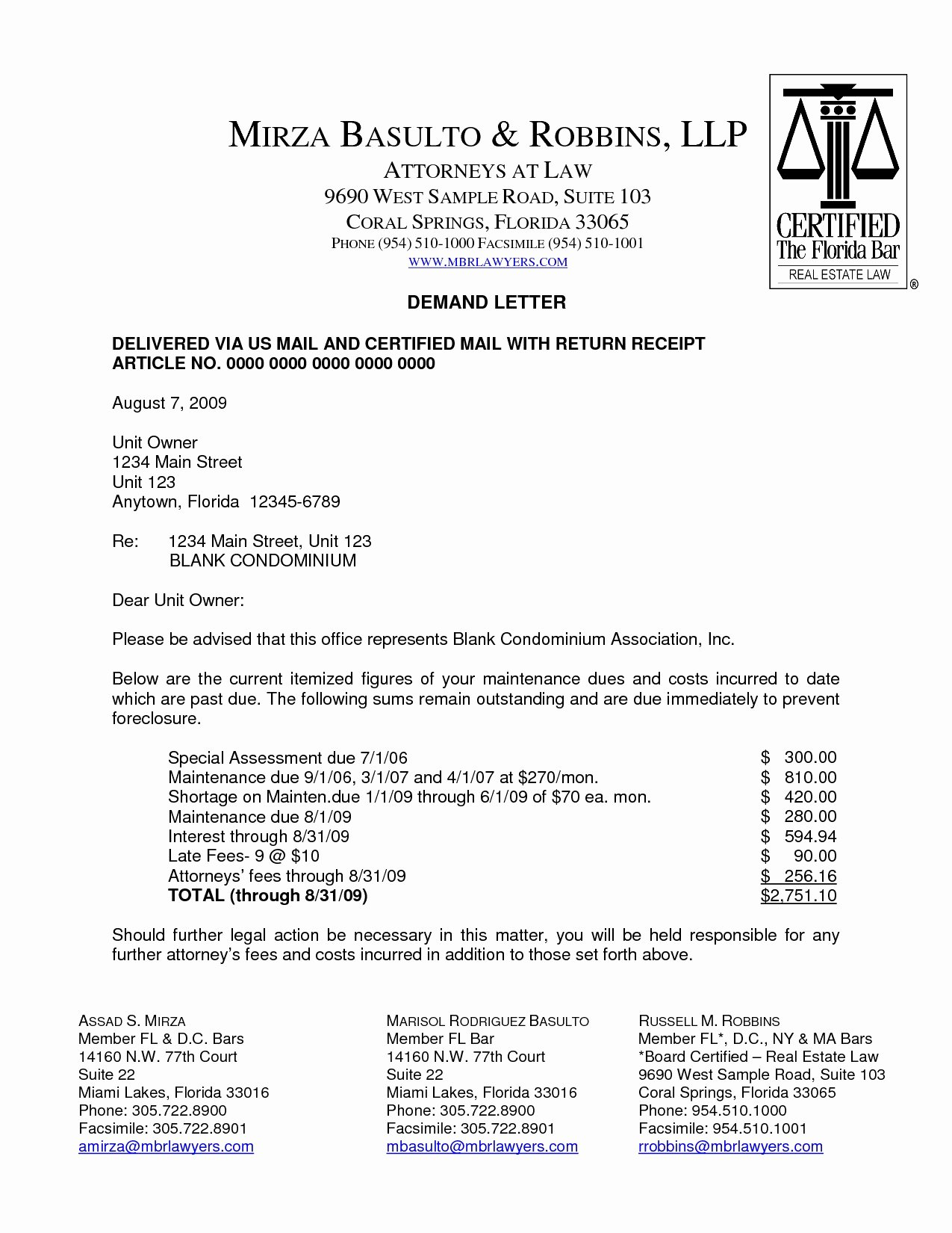 Letter Of Demand Template Fresh Demand Letter Template Breach Contract Examples