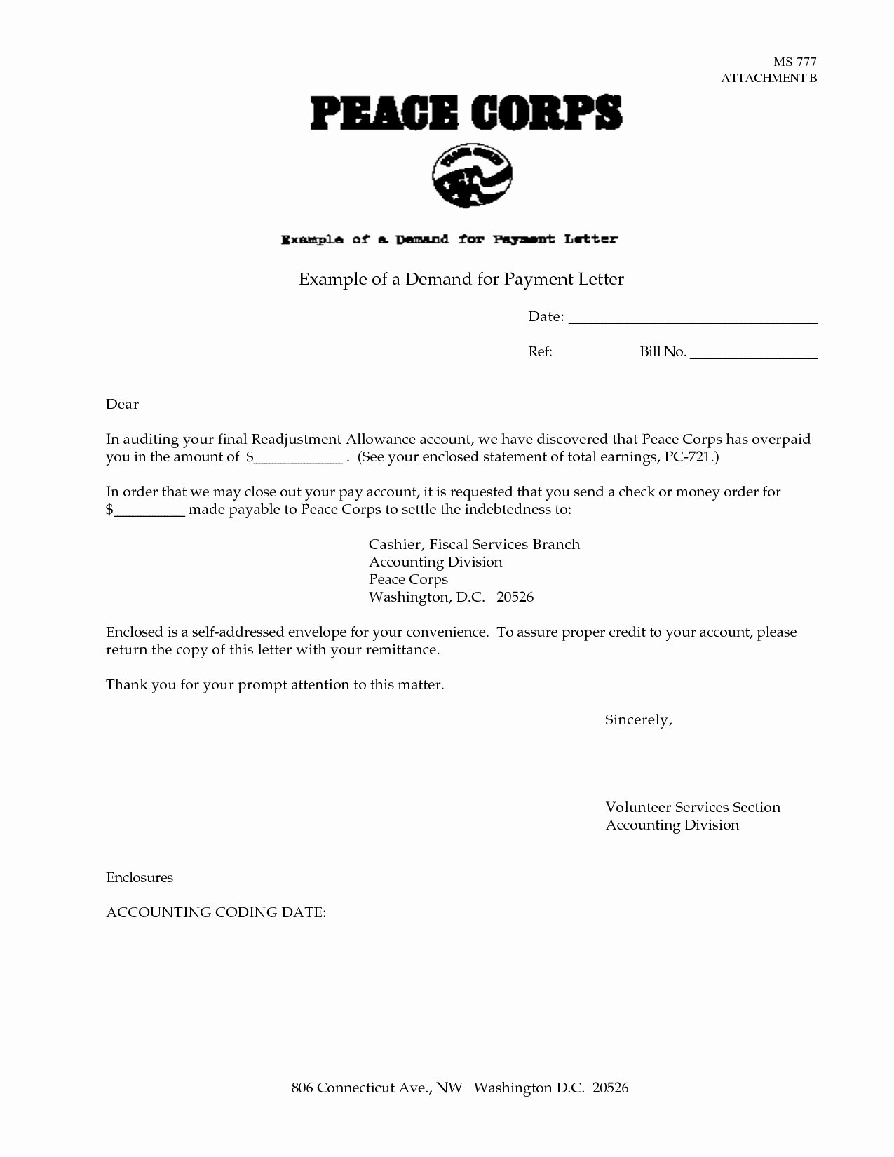 Letter Of Demand Template Inspirational Final Demand for Payment Letter Template Examples