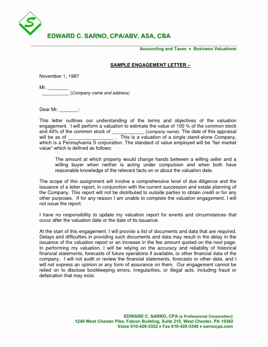 Letter Of Engagement Template Luxury Pany Letter Templates Examples Letterhead Newsletter