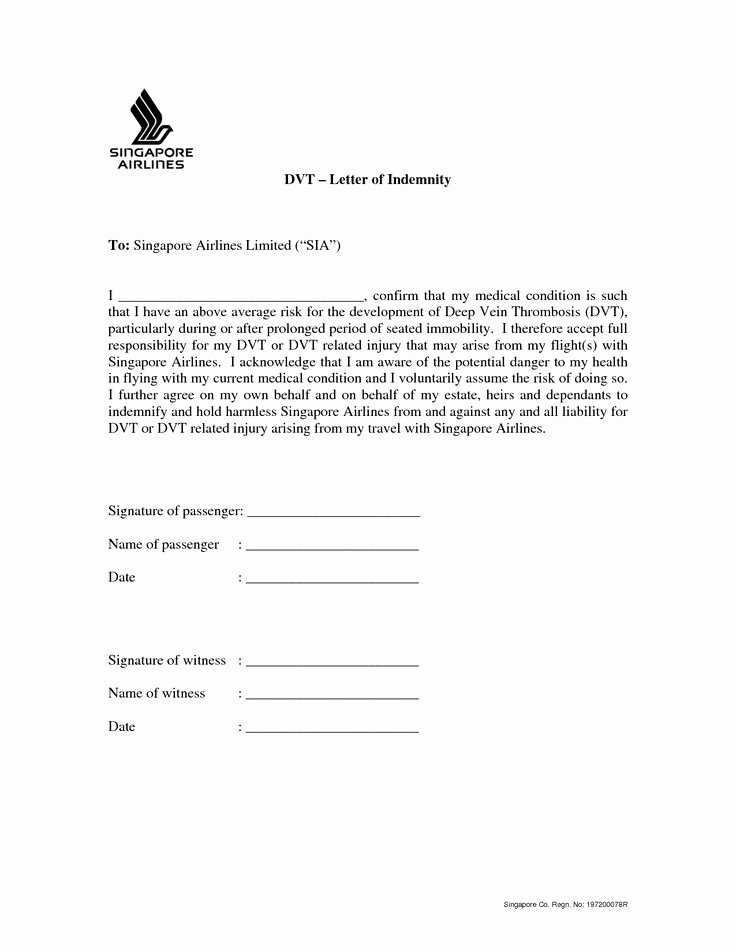 Letter Of Indemnification Template Best Of Die Besten 25 Certificate format Ideen Auf Pinterest