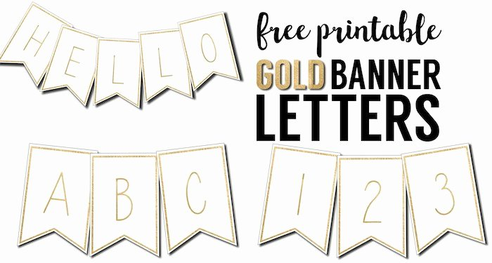 Letter Template for Banners Elegant Free Printable Banner Letters Templates Paper Trail Design
