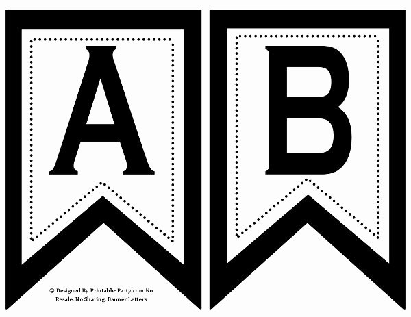 Letter Template for Banners Fresh Best 25 Printable Banner Letters Ideas On Pinterest