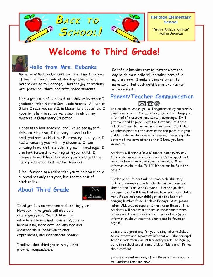 Letter to Parents Template Beautiful Best 25 Teacher Wel E Letters Ideas On Pinterest