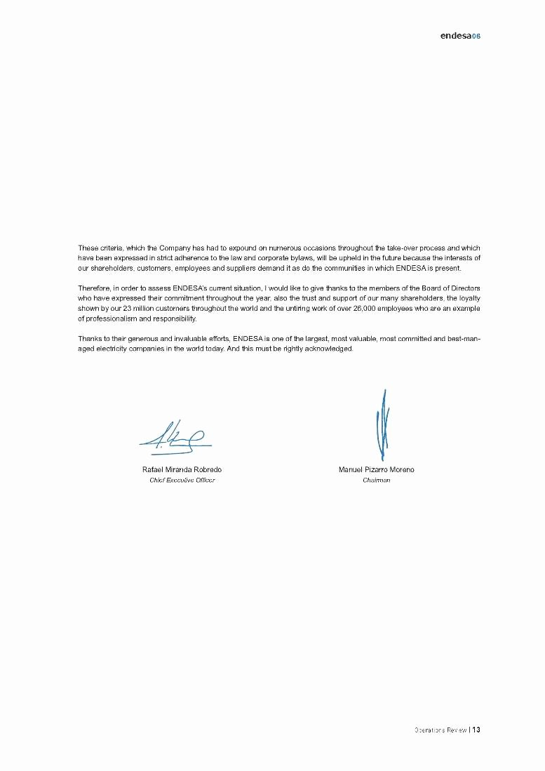 Letter to Shareholders Template Beautiful A N N U A L R E P O R T O P E R A T I O N S R E V I E W