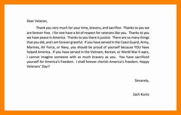 Letter to soldier Template Beautiful 13 Sample Letters to sol Rs