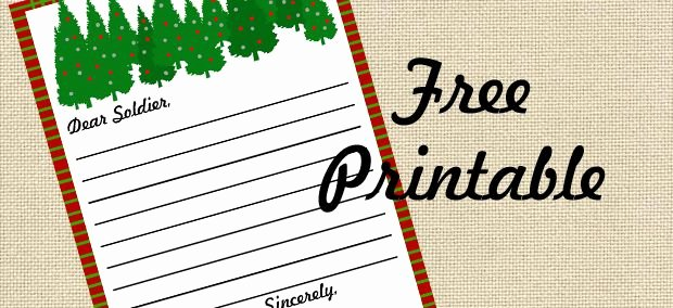 Letter to soldier Template Beautiful Pin by Krista Conway On Printables