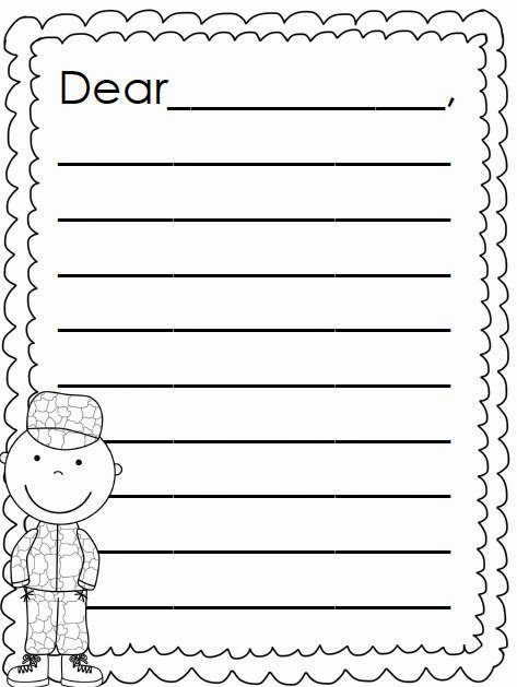 """Letter to soldier Template Luxury Search Results for """"santa Letter Template Printable"""