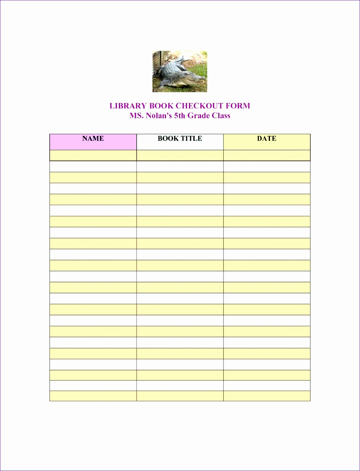 Library Checkout Cards Template Luxury Library Book Checkout Sheet Haojc Ideas Best S
