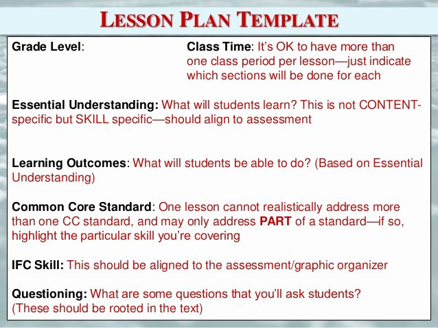 Library Lesson Plan Template Beautiful Empire State Information Fluency Continuum Refresh and
