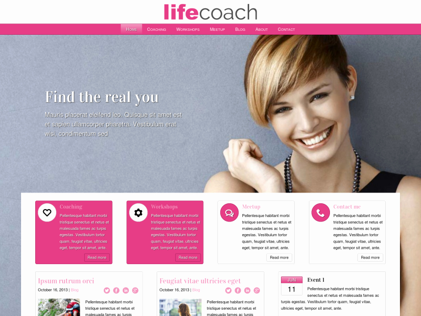 Life Coach Website Template Beautiful by Wp themes Teen Life Naked Celebs Caught