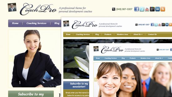 Life Coach Website Template Beautiful Coachpro A Wordpress theme for Life Coaches Wellness