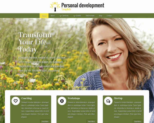 Life Coach Website Template Best Of Configure This In the Wp Backend Life Coach
