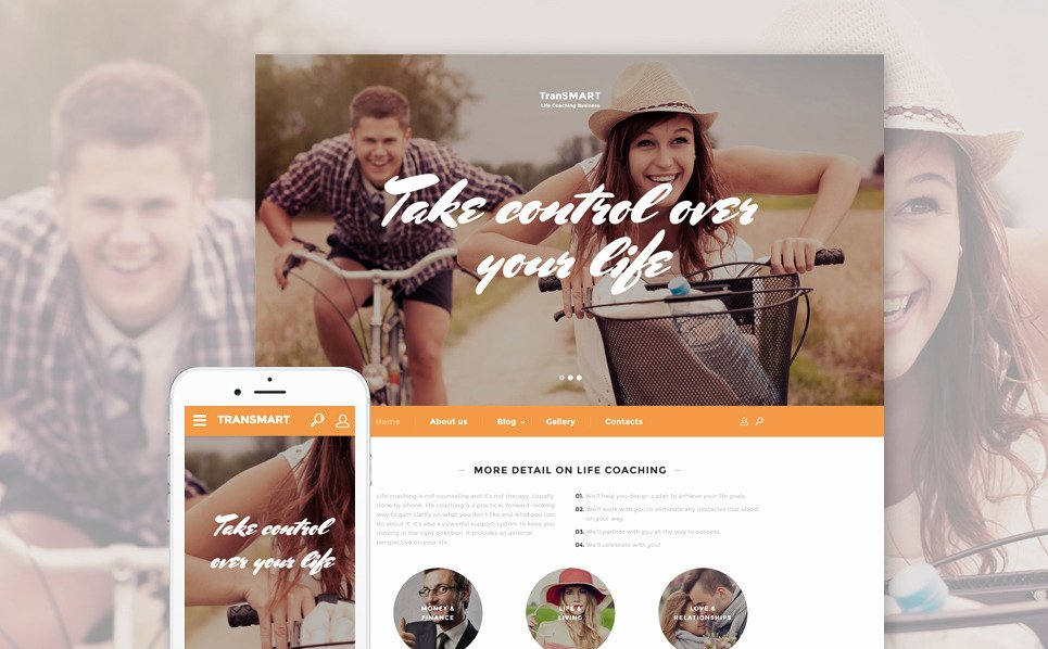 Life Coach Website Template Elegant Life Coach Web Template