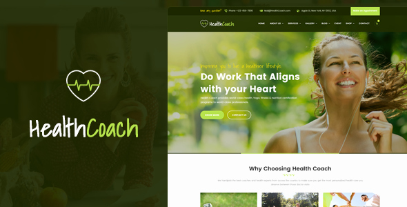 Life Coach Website Template New Health Coach HTML Template for Personal Life Coaching