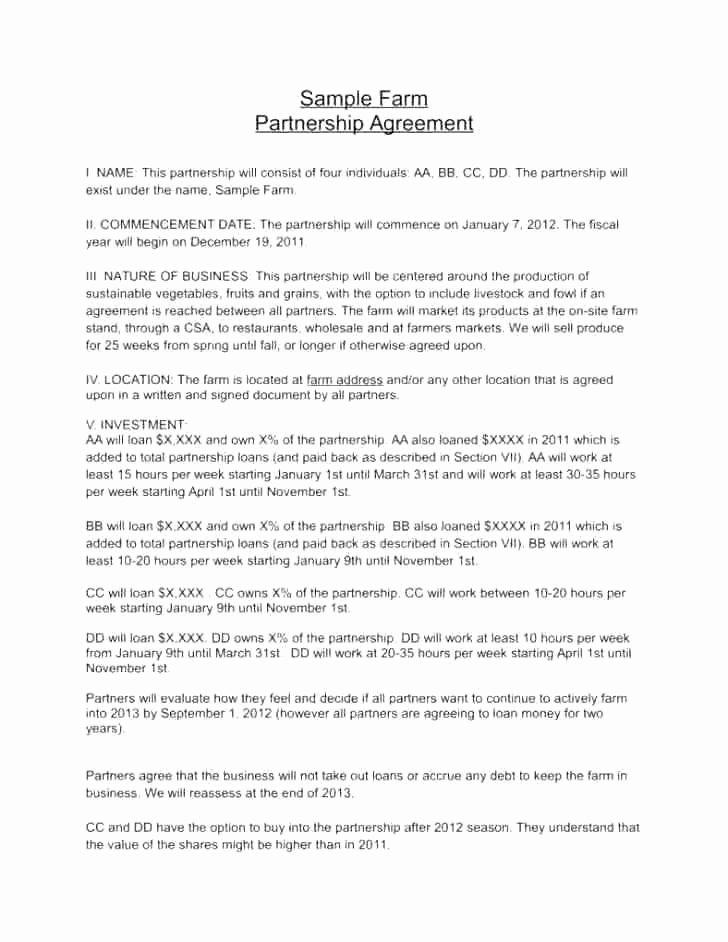 Limited Partnership Agreement Template Inspirational 27 Amazing Limited Partnership Agreement Template Scheme