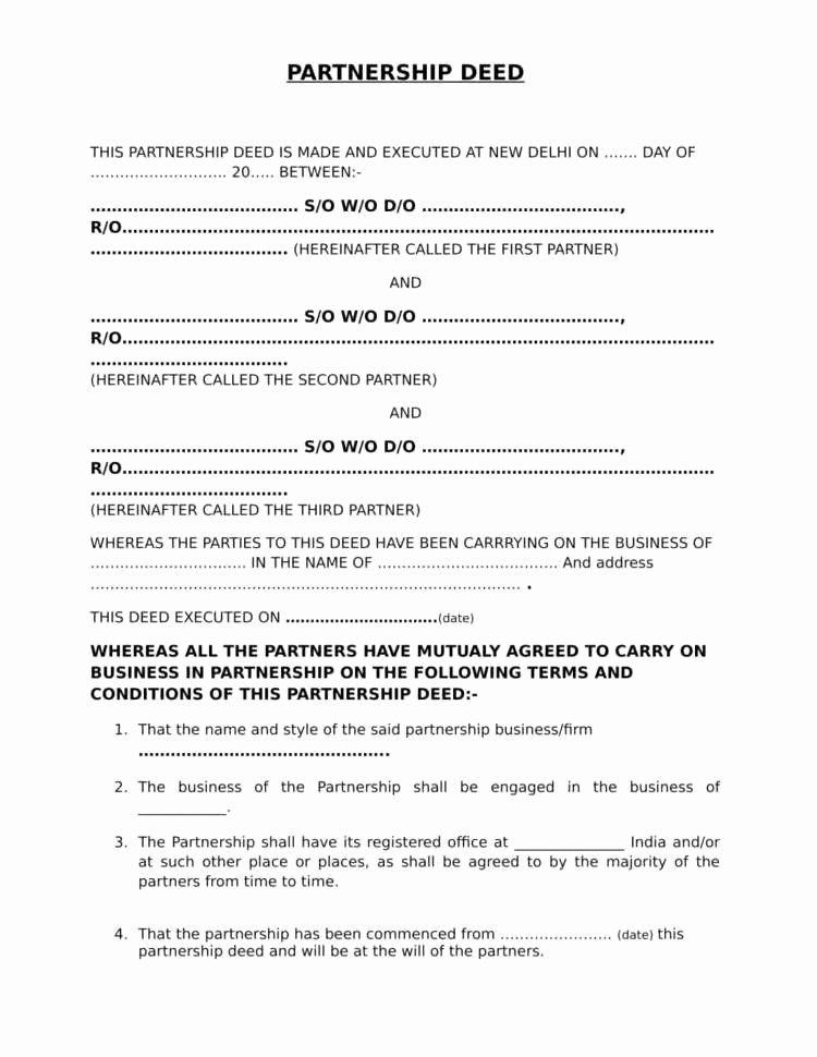 Limited Partnership Agreement Template Inspirational 27 Amazing Limited Partnership Agreement Template Scheme