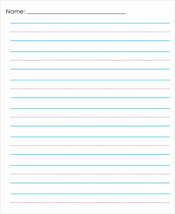 Lined Paper Template Pdf Best Of 13 Lined Paper Templates In Pdf
