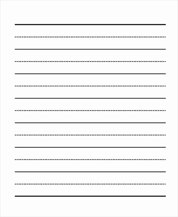 Lined Paper Template Pdf Elegant 29 Printable Lined Paper Templates