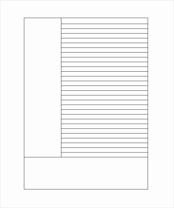 Lined Paper Template Pdf Inspirational Lined Paper Template 12 Download Free Documents In Pdf