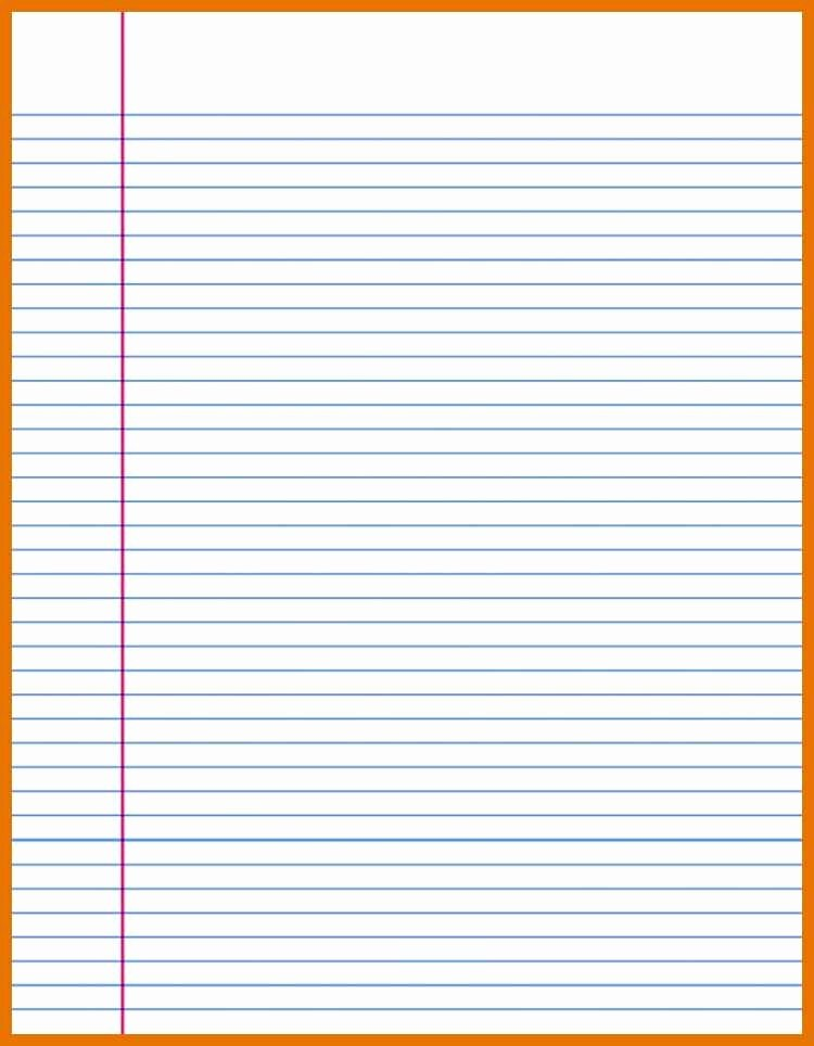 Lined Paper Template Pdf New 9 10 Lined Paper Pdf