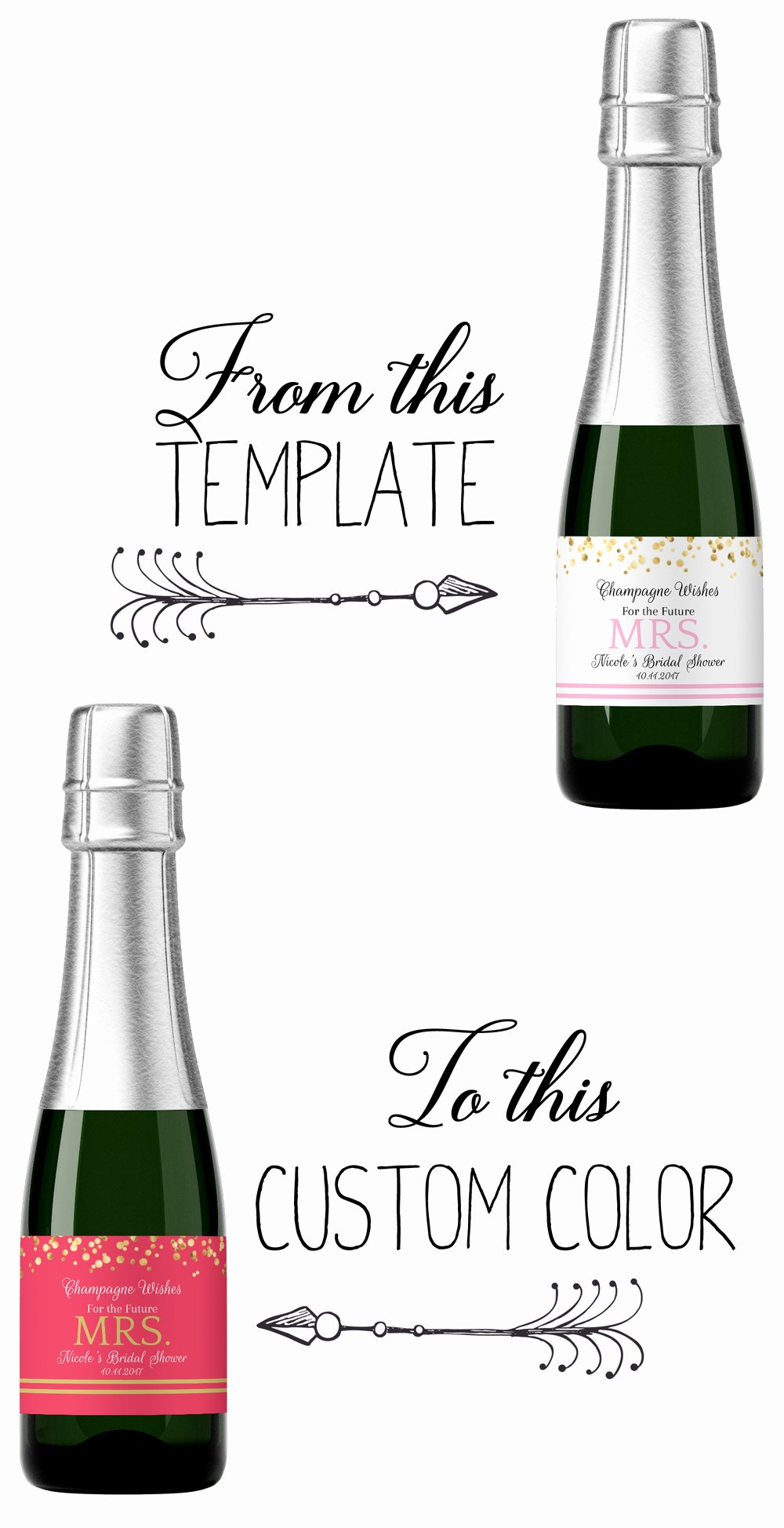 Liquor Bottle Labels Template New How to Make A Custom Label From A Template Step by Step