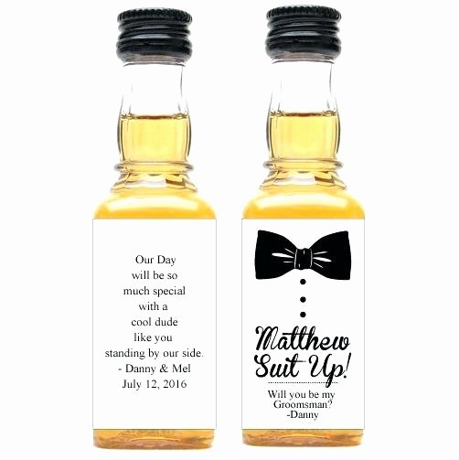 Liquor Bottle Labels Template New Liquor Bottles Labels Diy Mini Bottle – Rkawajan