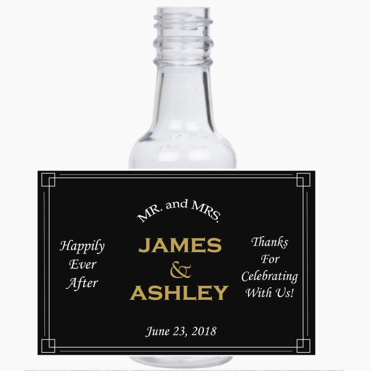 Liquor Bottle Labels Template New the Reasons why We Love Custom Mini Liquor