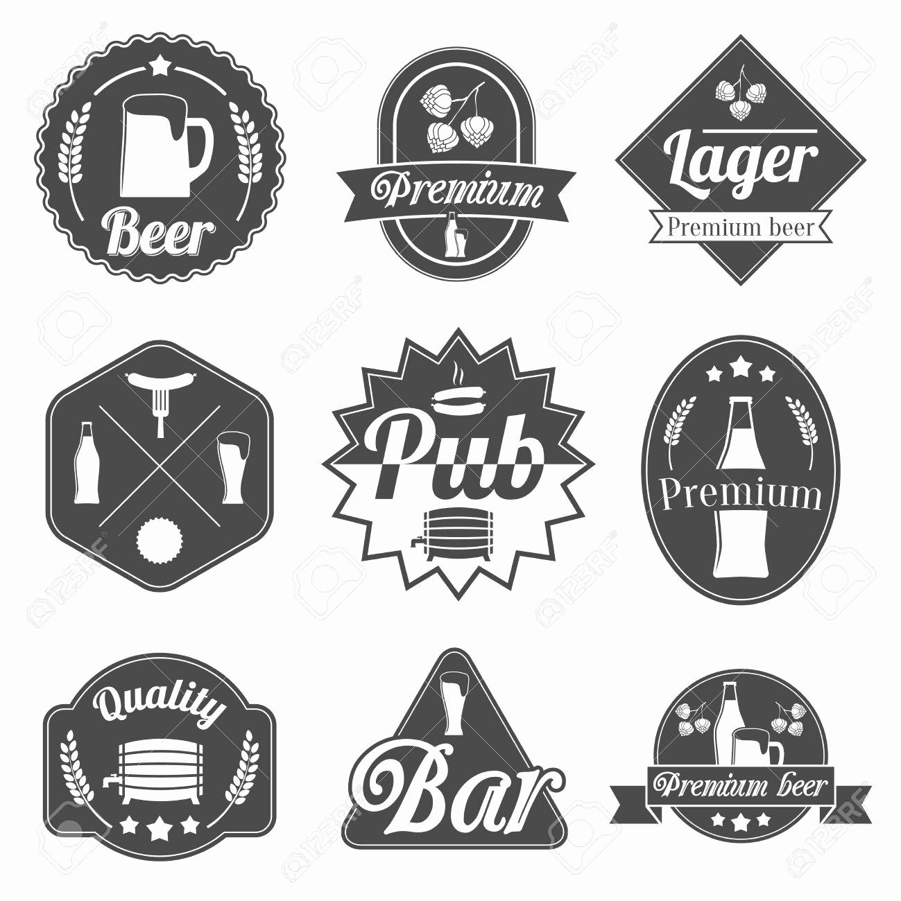 Liquor Bottle Labels Template Unique Liquor Label Template