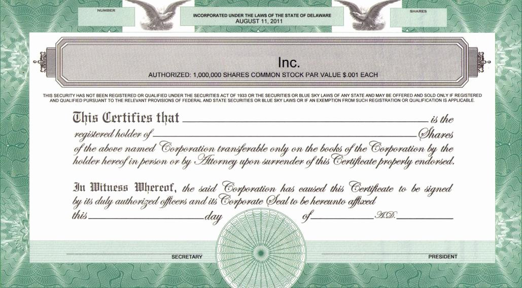 Llc Membership Certificate Template Elegant Printing Legends On Certificates